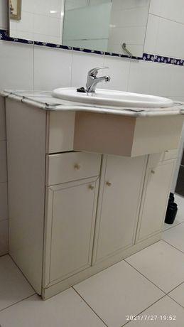Móvel casa de banho com 80 cm