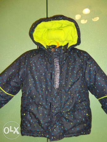Зимняя термокуртка Тополино, 92 размер.