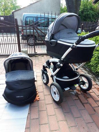 Wózek 2w1 gondola spacerówka coto baby latina