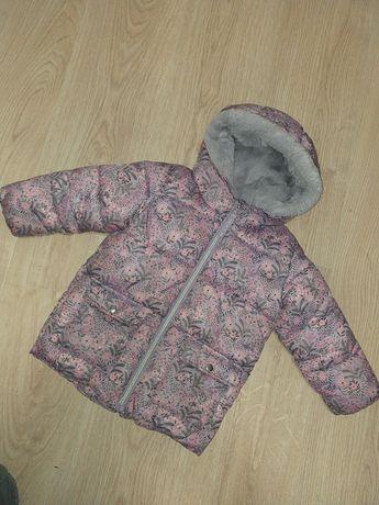 Зимняя курточка на девочку Next