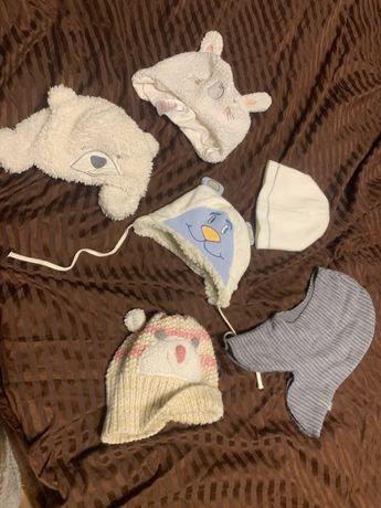 Детские шапки, шапки , зимние шапки