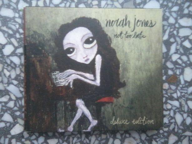"""Norah Jones """"Not too late. Deluxe edition"""" CD + DVD"""
