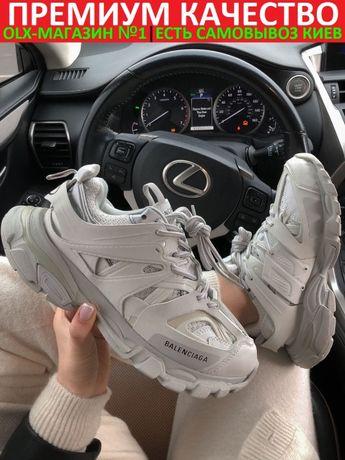 "кроссовки Balenciaga Track Premium ""White"" женские"