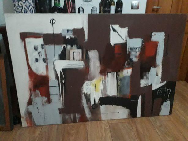 Quadro arte moderna abstrata
