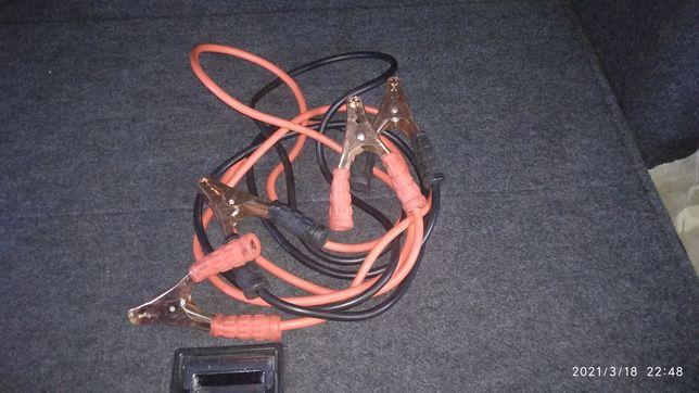 Провода для прикуривания автомобиля аккумулятора