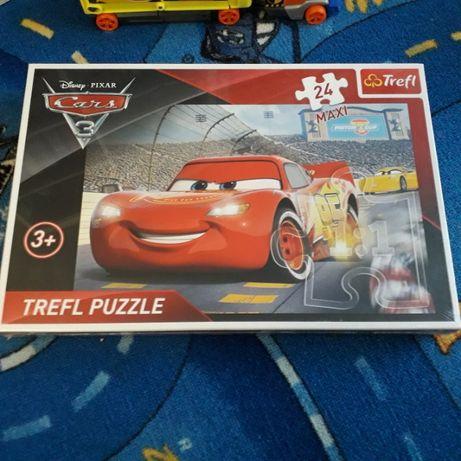 Puzzle zygzak cars 3