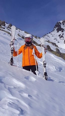 Kurtka zimowa narciarska damska 4F