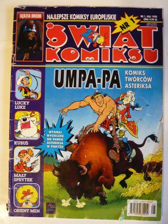 Świat Komiksu nr 1 maj 1998 PROMOCJA!