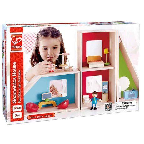Домик для кукол, дом трасформер Hape