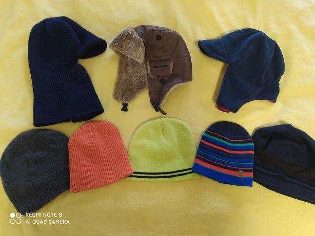 Теплые и деми шапки, 1-3 годика