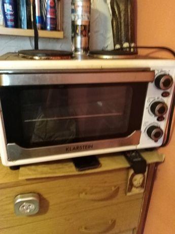 Piekarnik elektryczny z rusztem ruchomym 2 w1