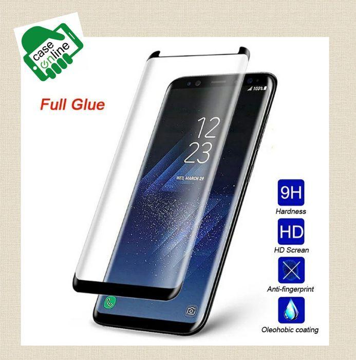 Película Vidro Temperado 3D Samsung S8 / S8 Plus / S9 Plus -Cola Total