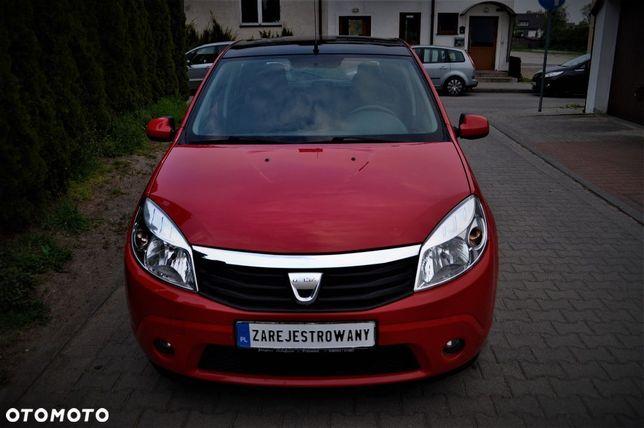 Dacia Sandero 1.4 Benzynka 5d Zarejestrowany 2010r Klima Serwis