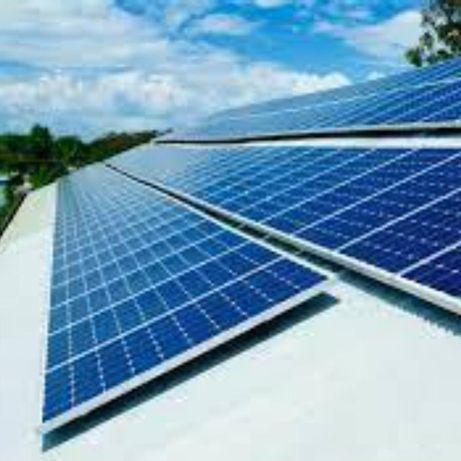 Fixação de Painéis Solares em Alumínio/Inox