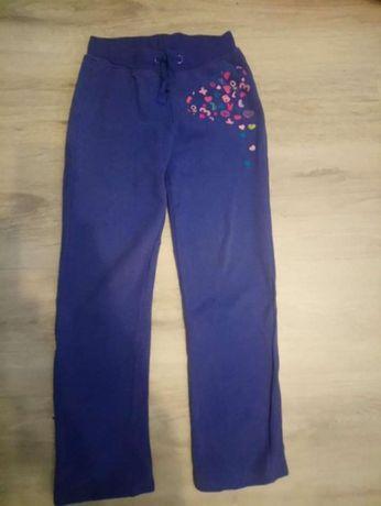 Spodnie dres ocieplane cool club,r.128/134