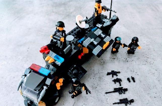 Zestaw klocków SWAT