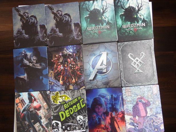 PS4 / XBOX ONE STEELBOOK mega unikaty Avengers SEKIRO GOW Wiedźmin