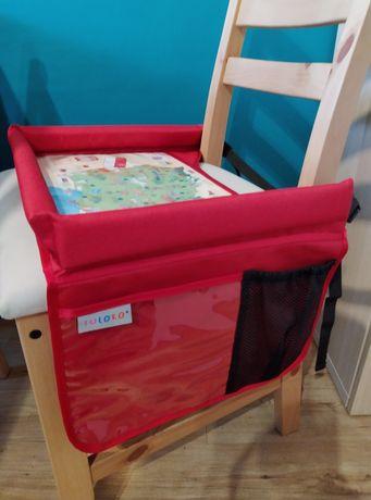 Tuloko składany stolik do auta wózka fotelika organizer dla dziecka