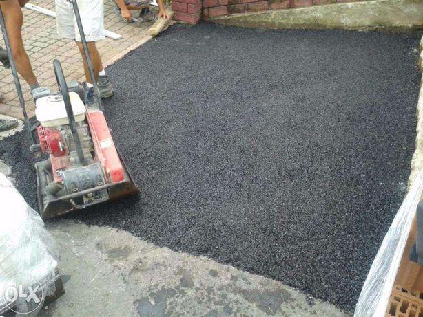 Asfalt na zimno masa bitumiczna asfalt w workach