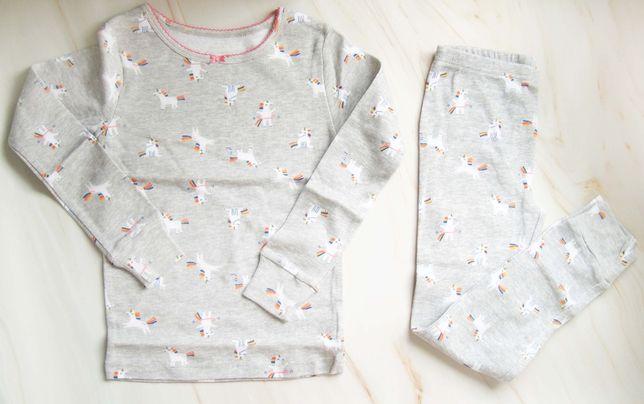 Пижама Carters единороги размер 4-5