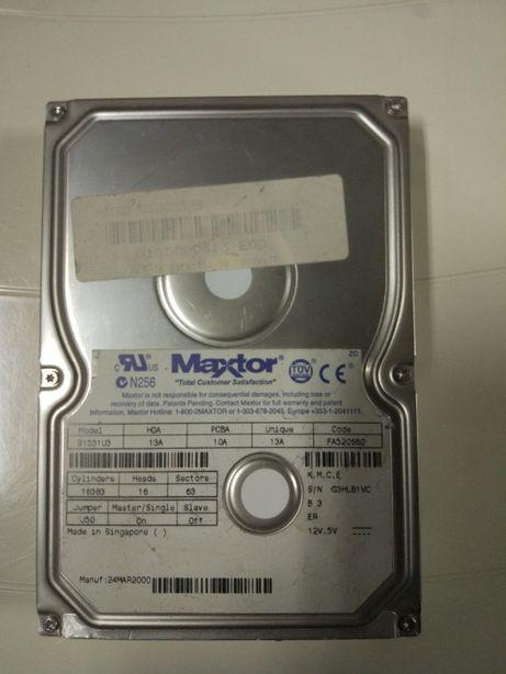 "Disco Rigido IDE Maxtor 15GB 3.5"""