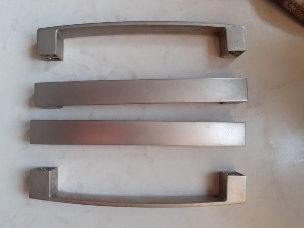 uchwyty meblowe satynowe 160 mm - 25 szt