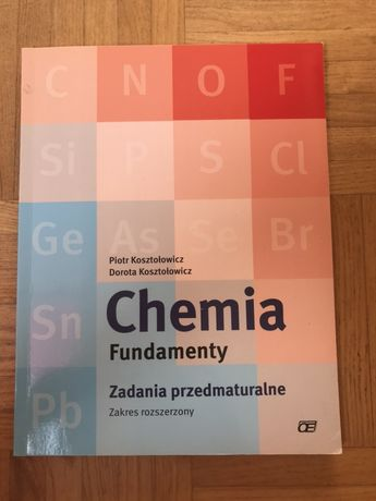 KOSZTOŁOWICZ fundamenty 1 chemia