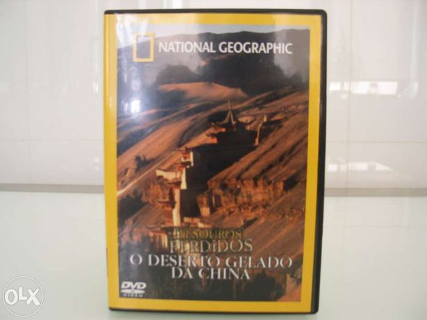 Dvd national geographic - tesouros perdidos