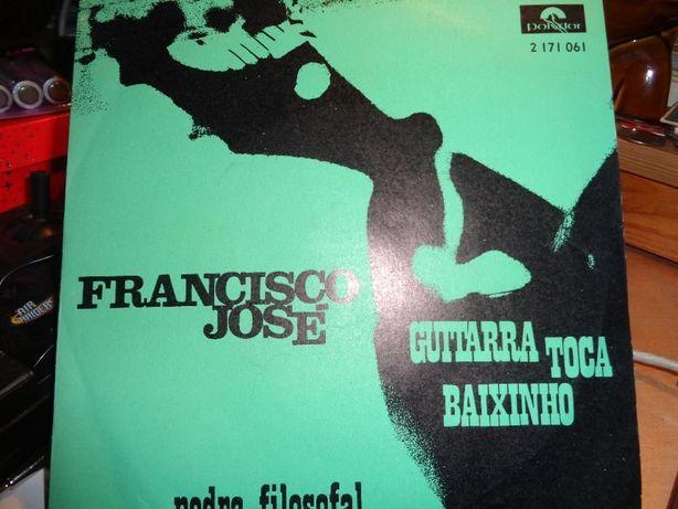 Disco Single Francisco José Guitarra Toca Baixinho Usado