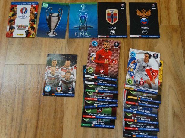 karty Panini Brasil 2014 UEFA Round 2016 kluby zespoły