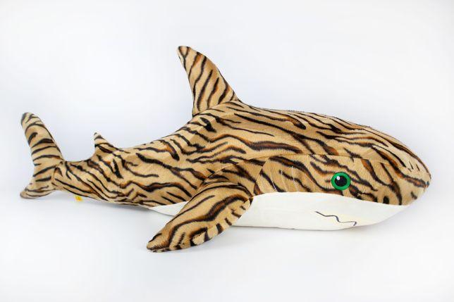 Мягкая игрушка Kidsqo Акула 107см тигровая