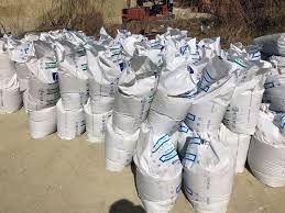 Пісок в мішках ,відсів в мішках ,отсев ,щебень,цемент , керамзіт