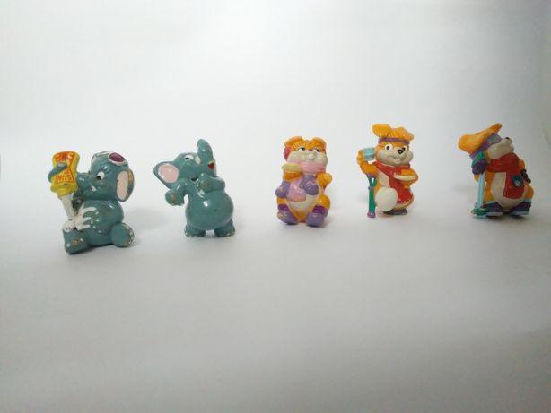 Sprzedam figurki KOTÓW I SŁONIÓW