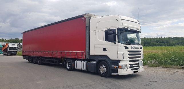 Transport TIR 1-24t ciężarowy Firanka Mega Krajowy Międzynarodow