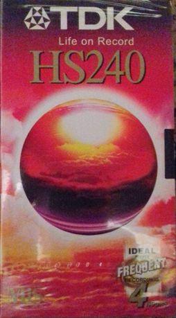 Nowa zafoliowana VHS TDK 240 4 godziny