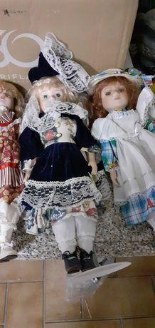 Bonecas de porcelana coleção