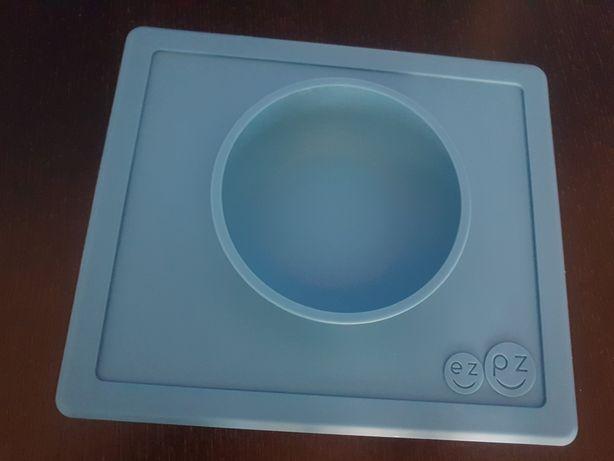 Miseczka miska silikonowa EZPZ niebieska