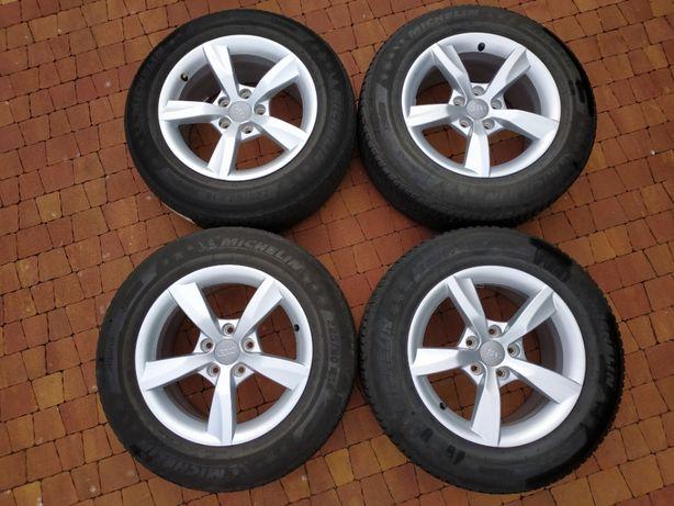 1827. Audi A6 C7 koła zimowe 225/60/16 5x112 7.5J ET37 Michelin