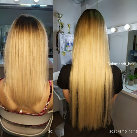 Наращивание или коррекция волос. Оболонь метро Минская