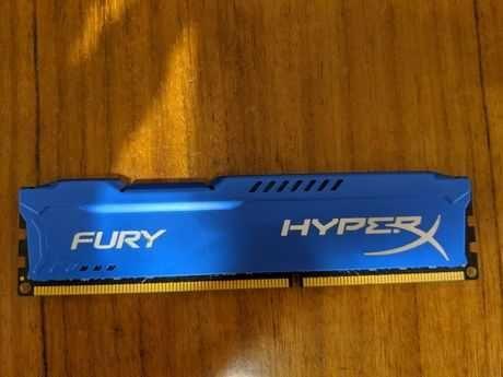 Оперативна память HyperX DDR3-1600 8192MB PC3-12800 FURY Blue..