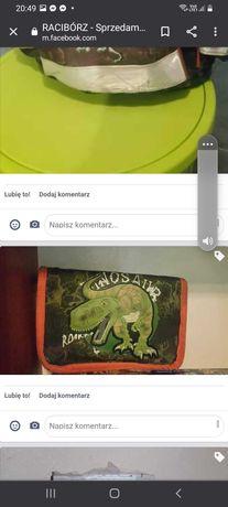 Tornister z dinozaurem + gratis piórnik