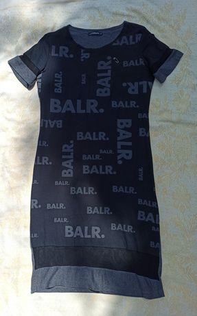 Платья чёрное с ватином вставками