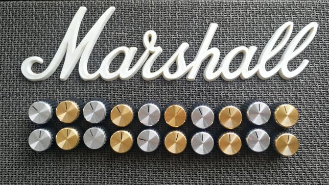 Botões amplificador Marshall