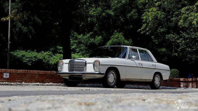 AUTO DO SLUBU mercedes retro zabytkowy biały w115 klimatyzacja !fvat