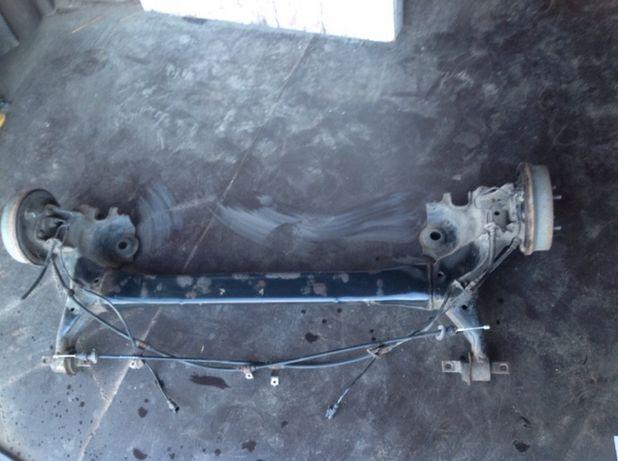 Балка задняя /барабан/ трос Mitsubishi Colt 04-12 запчасти