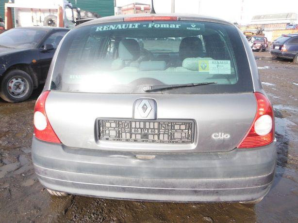 Renault Clio II 1,4 klapa tylna, części FV transport /dostawa