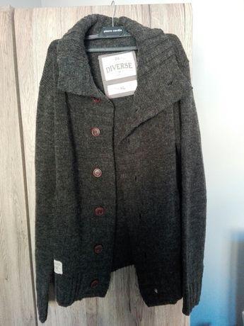 Sweter męski w stylu kardigan Diverse