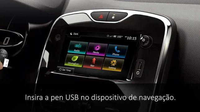Штатная магнитола Renault Clio IV Media Nav Evolution