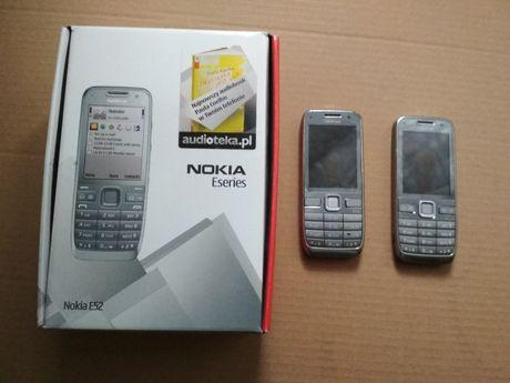 Okazja Pudełko Nokia E52 plus 2 Telefony nie sprawne !