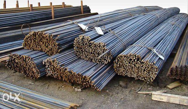 PRĘT ŻEBROWANY ZBROJENIOWY stal zbrojeniowa drut budowlany